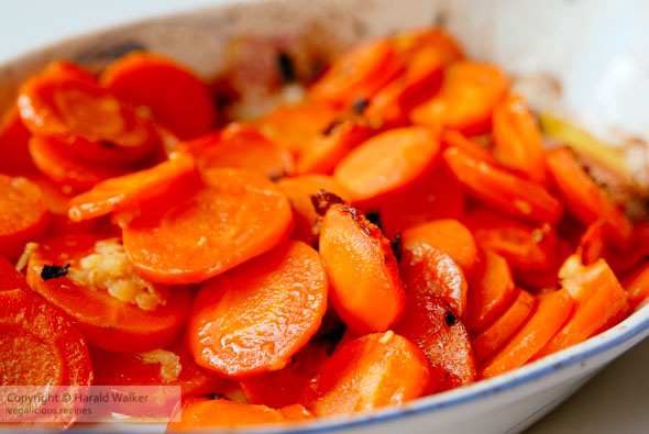 Rosted carrots