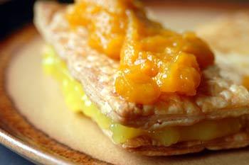 Apricot-Lemon Napoleons