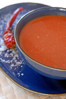 Madras Tomato-Coconut-Soup