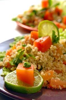 Sunshine quinoa salad