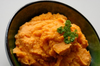 Celtic mash with carrots and parsnip