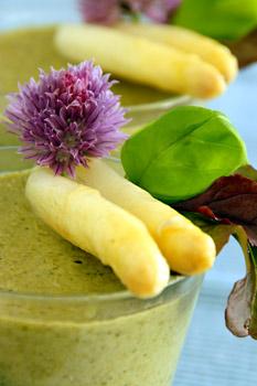 Asparagus Spinach Mousse