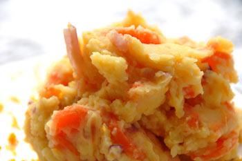 Orange Carrot Hash
