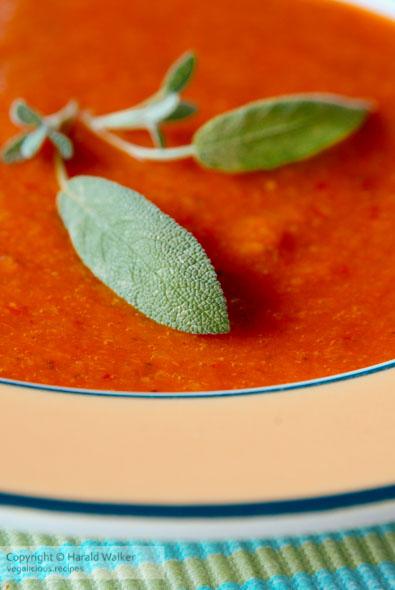 Broccoli Paprika Soup