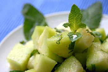 Mexican Minty Melon Salad