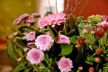 flowers for Chris