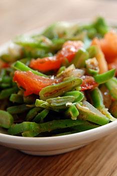 Green bean Bhajii
