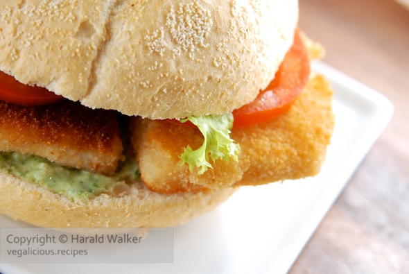 Celeriac cutlets burger