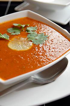 Coriander Tomato Soup