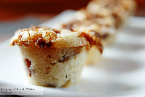 Apple chestnut muffins