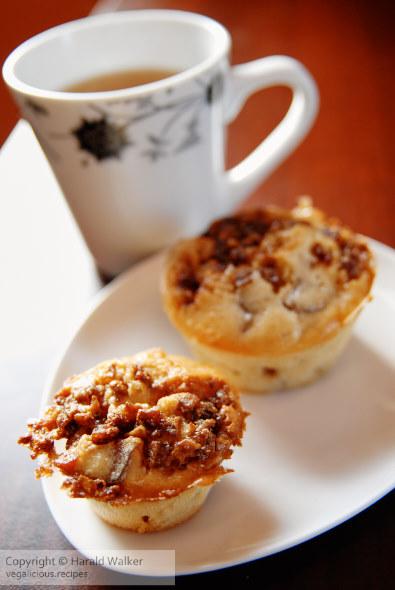 Apple chestnut muffins