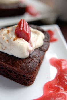 Red, white and brownies