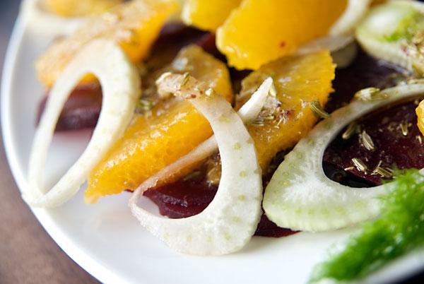 Orange, beet and fennel salad | Vegalicious Recipes