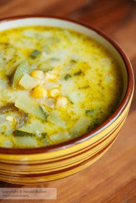 Mexican Zucchini Soup