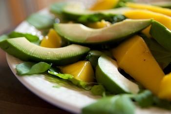 Mango, Avocado and Watercress Salad