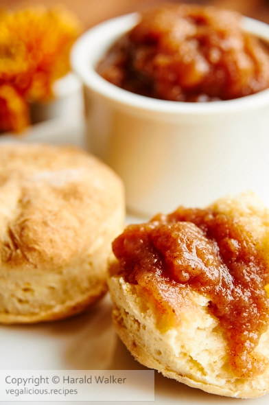 All American Biscuits with Apple Butter