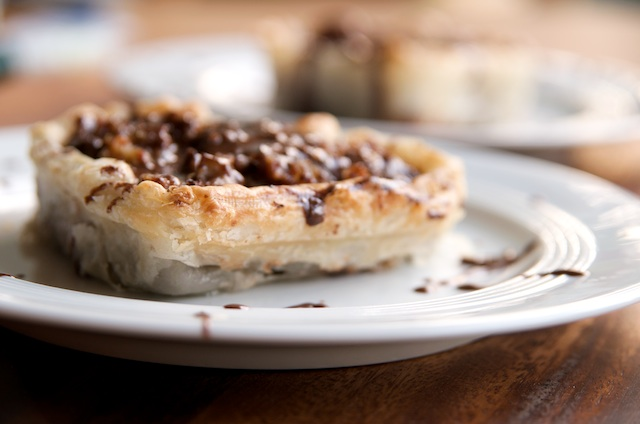 Sweets for my Sweetie - Chocolate Walnut Date Tarts