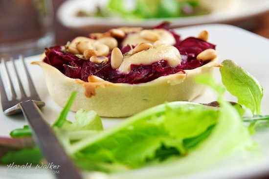 Red Cabbage Tarts
