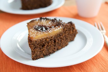 Pineapple Upside-down Gingerbread Cake