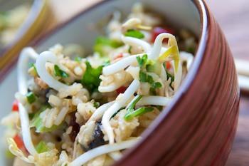 Sri Wasano's Infamous Indonesian Rice Salad