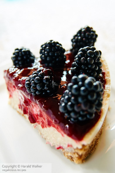 Blackberry-Lime Teasecake