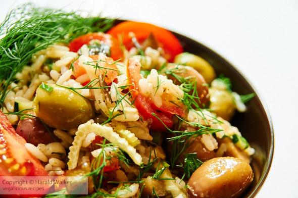 Classic Italian Rice Salad