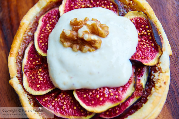 Maple Almond Fig Galettes