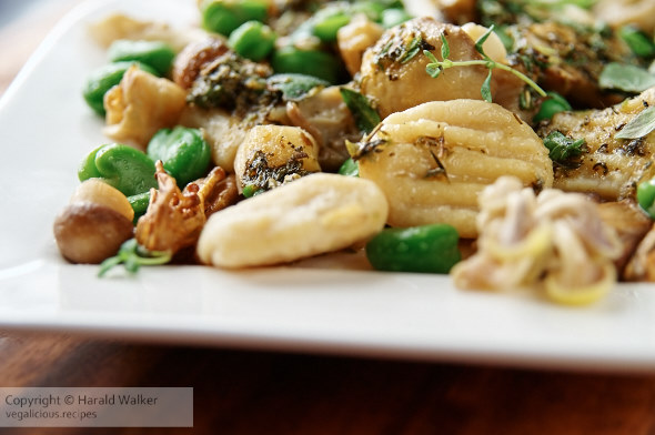 Parsnip Gnocchi with Wild Mushrooms