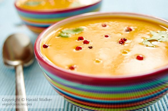 Orange Pumpkin Soup
