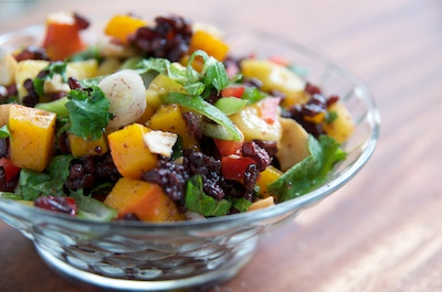 Thai Black Rice Salad