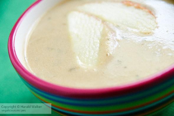 Irish Apple Parsnip Soup