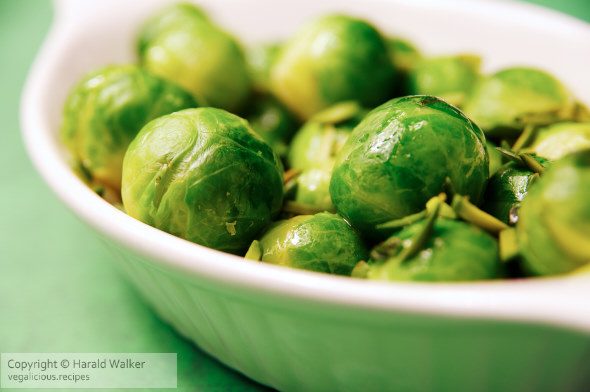 Brussels Sprouts with Pistachios