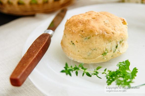 Vegan Herbed Buttermilk Biscuits