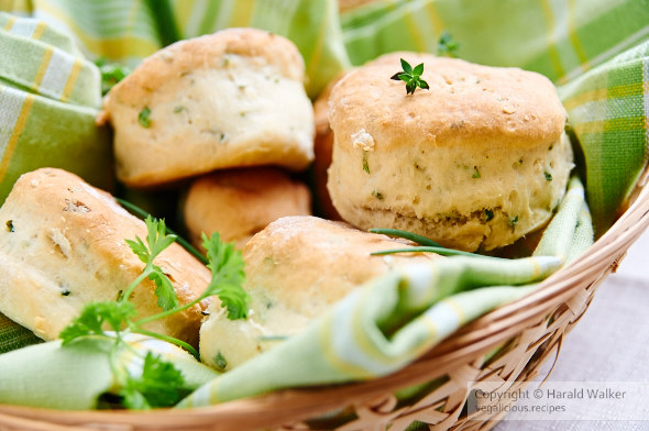 Vegan Herbed Buttermilk Biscuits