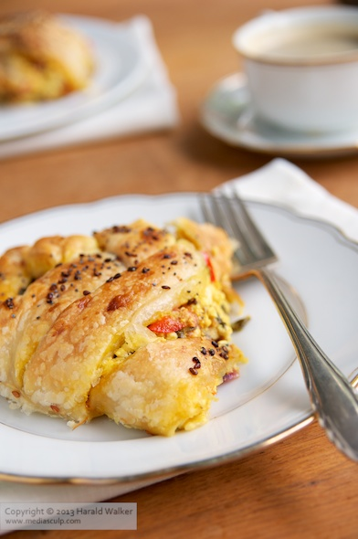 Savory Vegan Breakfast Pastry