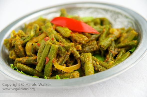Curried Green Bean Salad « Vegalicious Recipes