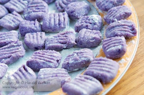 Purple Potato Gnocchi