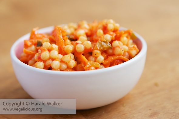 Roasted Pepper and Couscous Salad