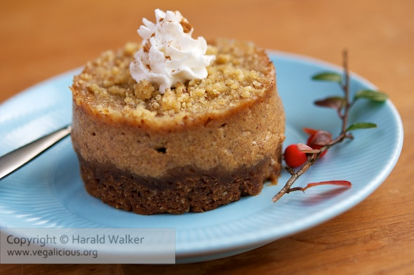 Small Pumpkin Pie Streusel