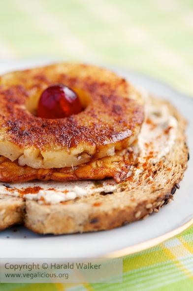 Tempeh Pineapple Toasts