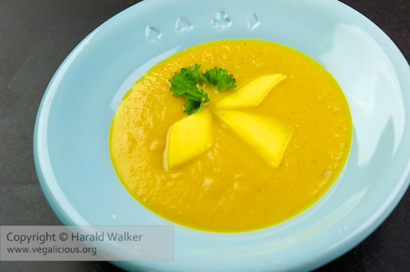 Mango and Carrot Soup