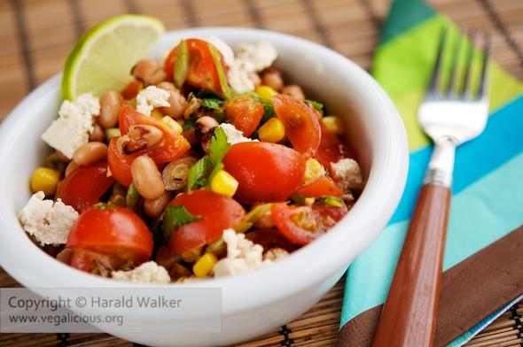 Mexican Cherry Tomato Salad