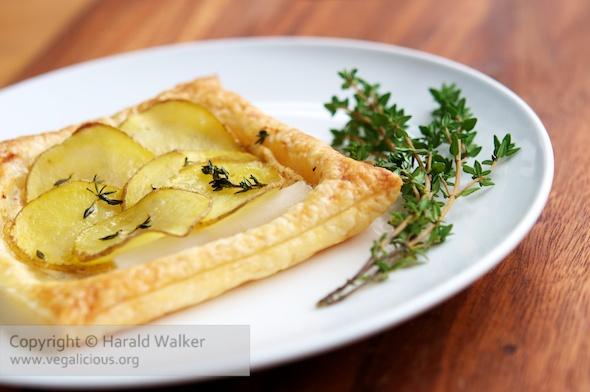 Vegan Asparagus Tart