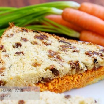 Carrot Raisin Sandwiches