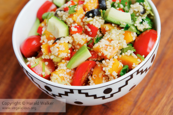 Mexican Sweet Potato Quinoa Salad
