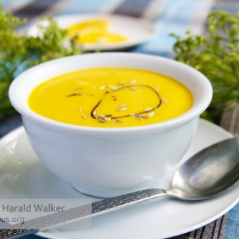 Carrot, Fennel and Orange Soup