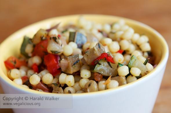 Ratatouille Couscous Salad