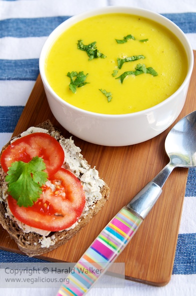 Spicy Yellow Bell Pepper Soup