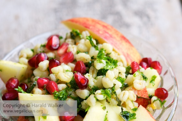 Apple-Barley Salad