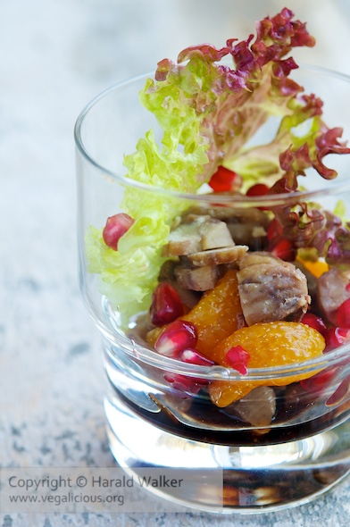 Chestnut and Mandarin Orange Salad